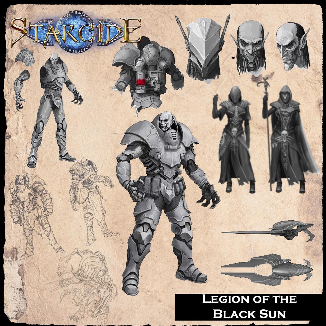 Starcide, Legion of the Black Sun, la facción de vampiros y nigromantes