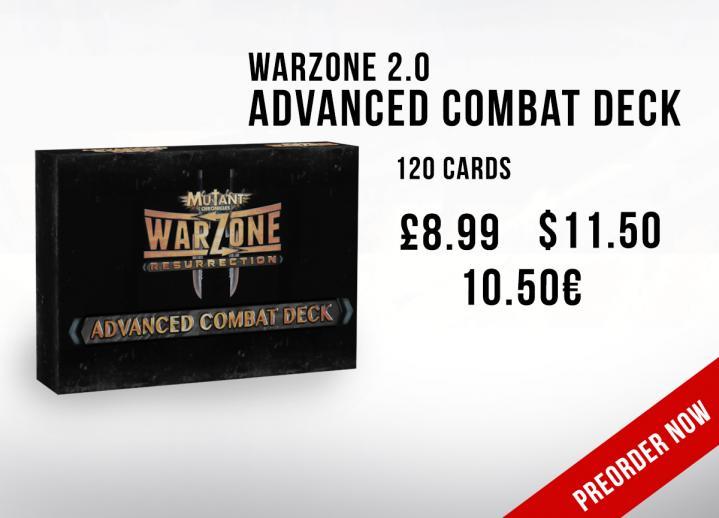 Warzone Resurrection 2.0 Advanced Combat Deck